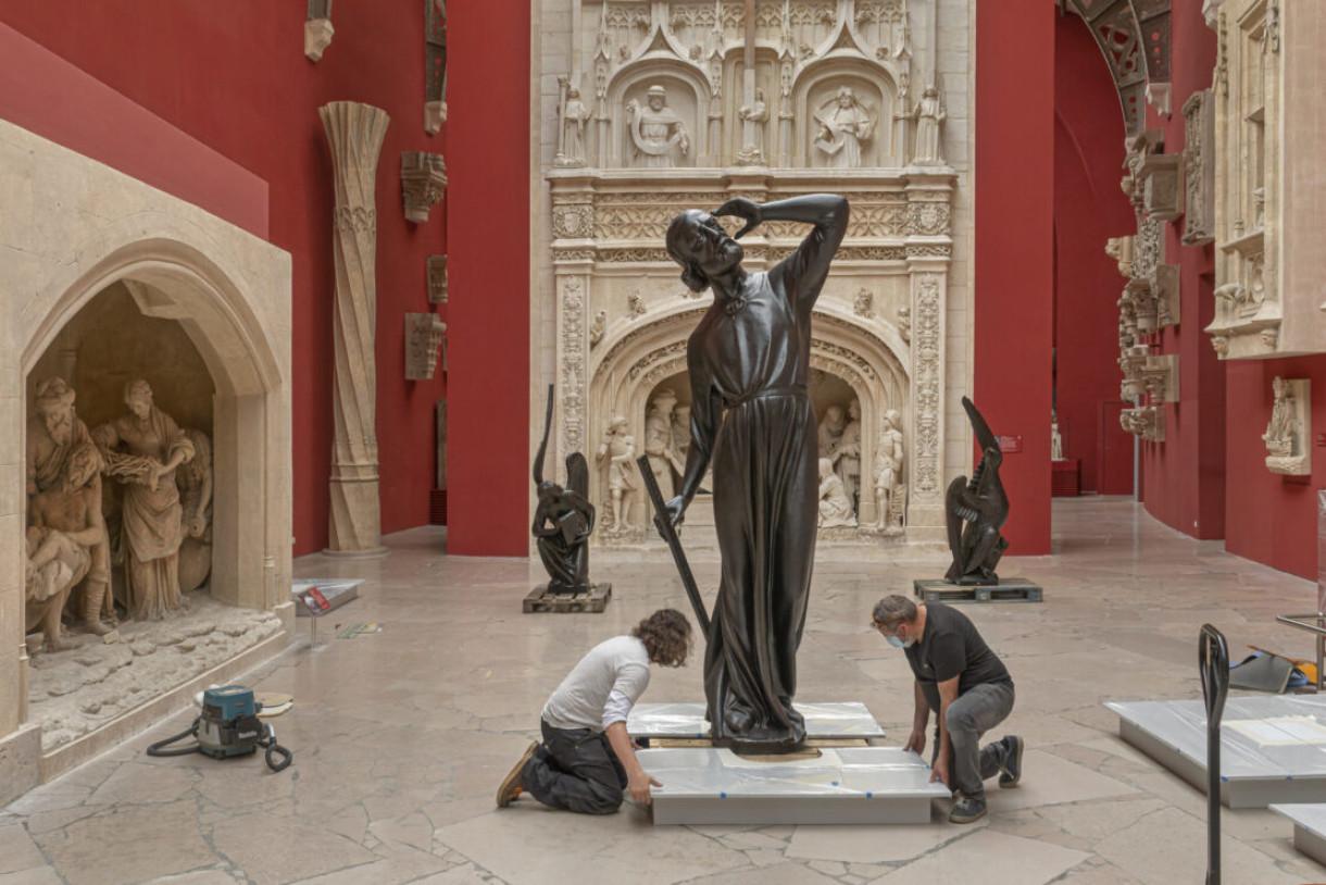 statues Notre-Dame de Paris