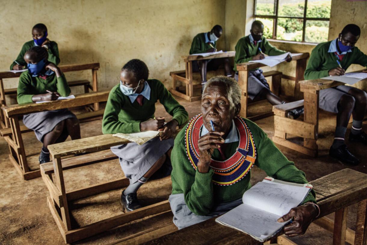« Gogo » : une écolière bientôt centenaire à l'affiche