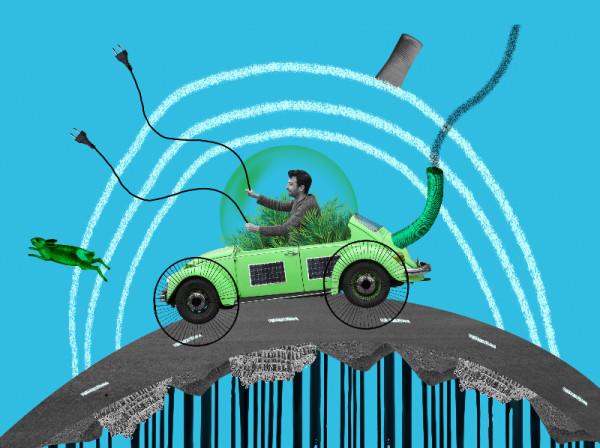 Photo voiture electrique
