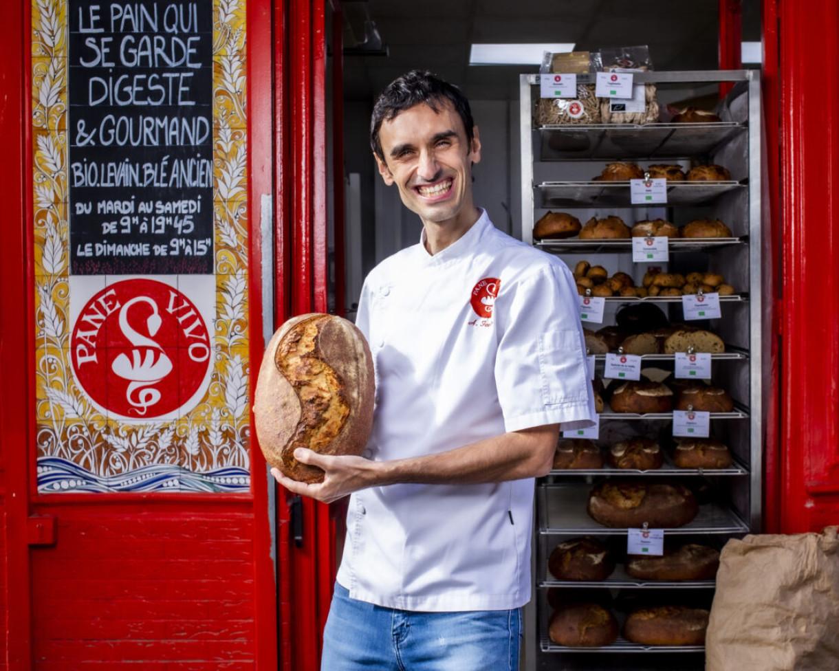 Adriano Farano : « Avec mon pain, je veux revenir aux sources »